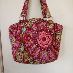 Vera Bradley purse and matching wallet